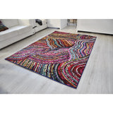 Spirit Multi Colour Abstract Rug