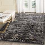 Artifact Grey Distressed Traditional Vintage Seasons Persian Rug