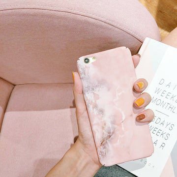 Pink Pastel Marble Case (iPhone)