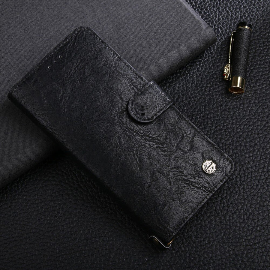 Moon Poem Wallet Flip Case (iPhone)