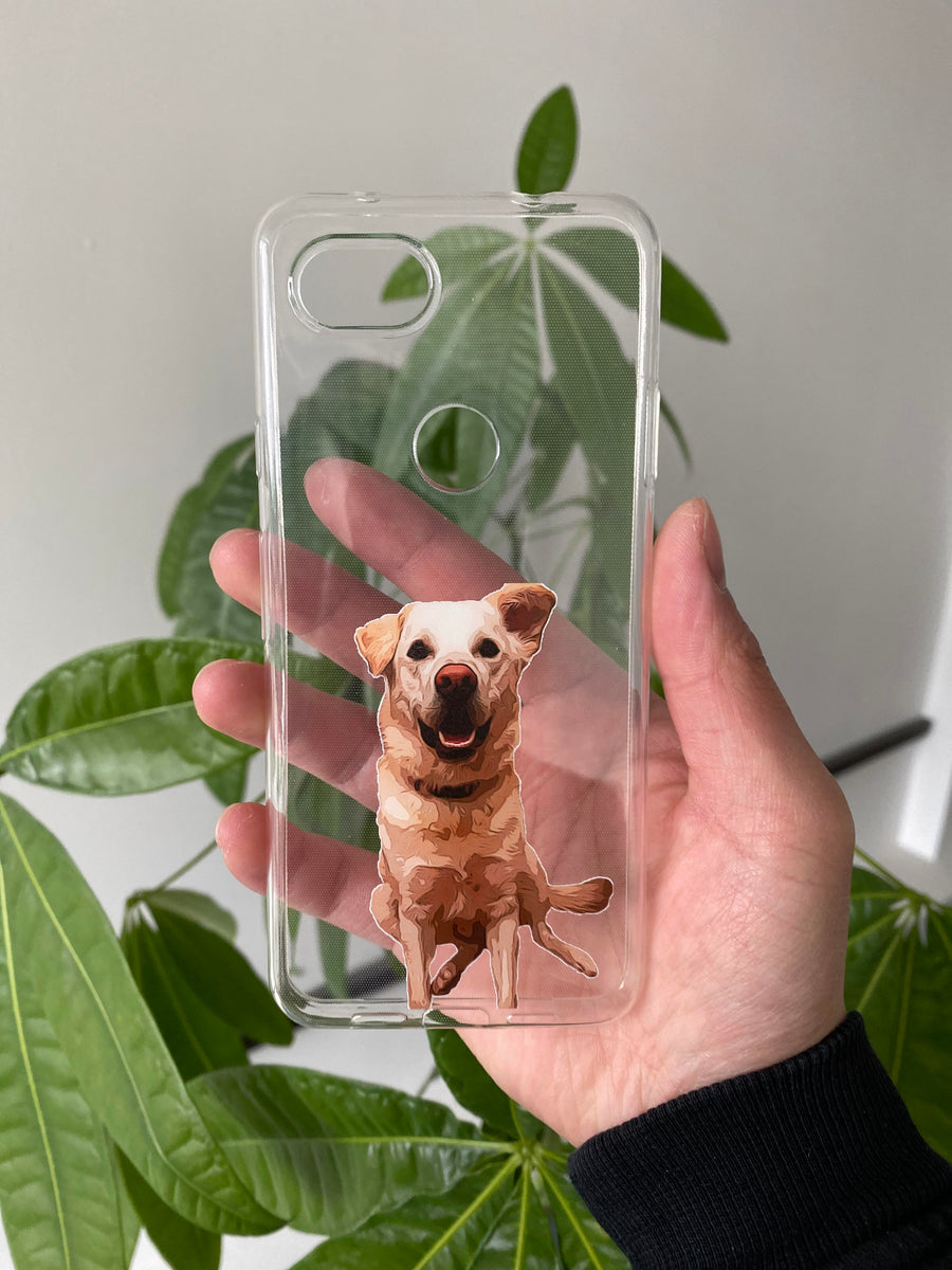 Custom Personalized Pet Phone Cases, Cartoon/Oil Paint Filter
