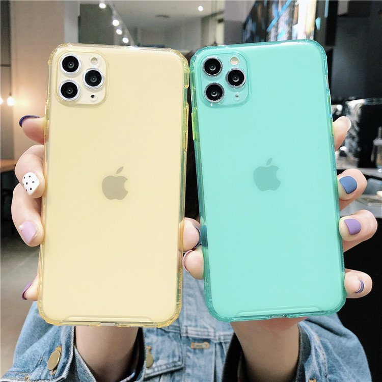 Transparent Colored Case (iPhone)