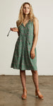 Bellflower Shift Dress Forest Green