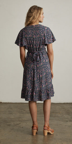 Bellflower Play Dress Plum