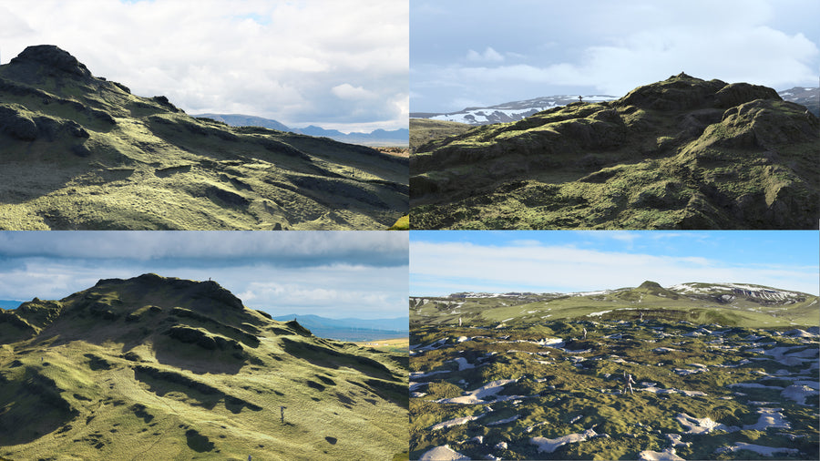 COMBO PACK : GRASSY HIGHLANDS