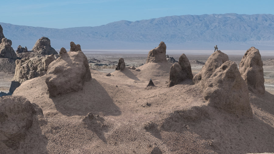 TRONA PINNACLES CLUSTER