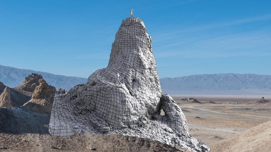TRONA PINNACLES : NH A : FREEBIE!