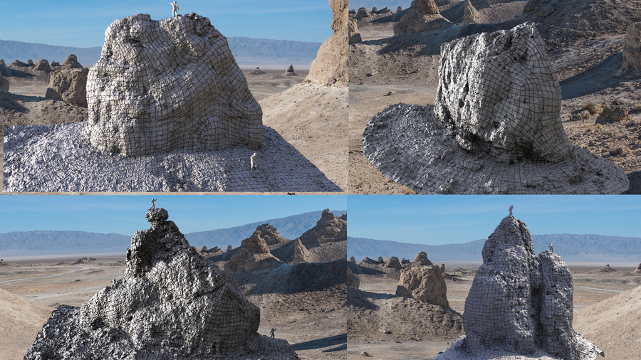 TRONA PINNACLES [ SET B ]