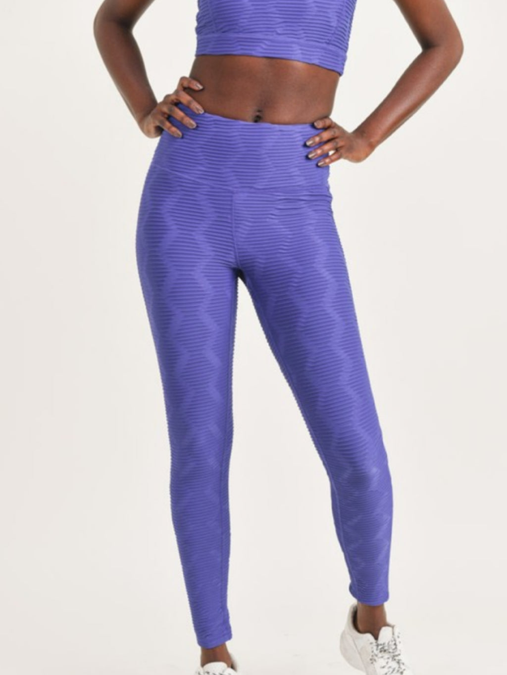 Indigo Diamond Print Leggings