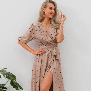 LA Polka dot women  dress