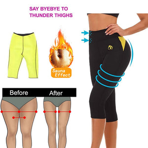 LA Hot Neoprene Pants Slim