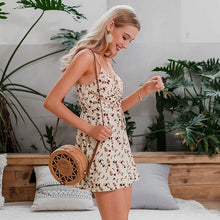 Load image into Gallery viewer, LA Beach summer  chiffon playsuits