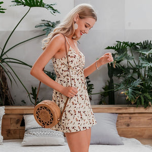 LA Beach summer  chiffon playsuits
