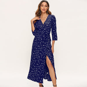 LA Polka Dot Long Dress