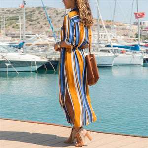 LA Long Boho Beach Dress