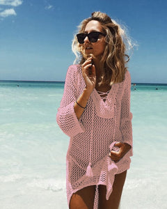 LA Tybee Island Knit Cover Up