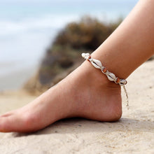Load image into Gallery viewer, LA Seashell Ankle Bracelet