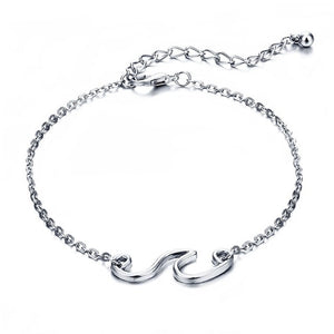 LA Mini Wave Ankle Bracelet