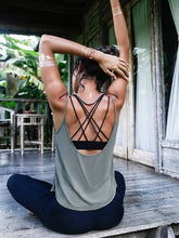 Load image into Gallery viewer, LA Low Back Yoga Top