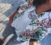 Load image into Gallery viewer, LA Floral Bomber Jacket