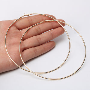 LA Essential Hoop Earrings (available in 2 colors and 8 sizes)