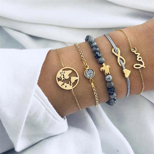 Seychelles Beach Bracelet Set (available in 18 styles)