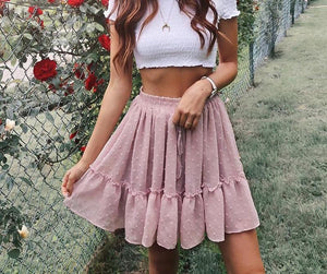 LA Polka Dot Skirt