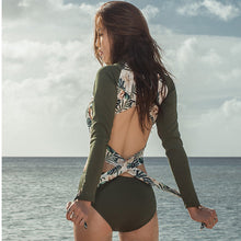 Load image into Gallery viewer, LA Palm Island Wrap Swimsuit