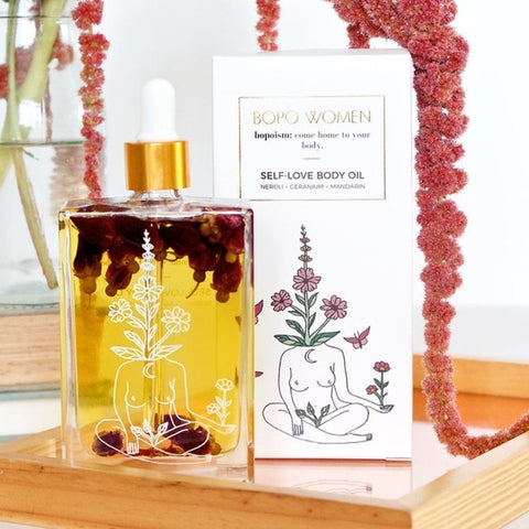 Self love body oil