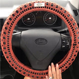 Pilbara dreaming steering wheel cosie