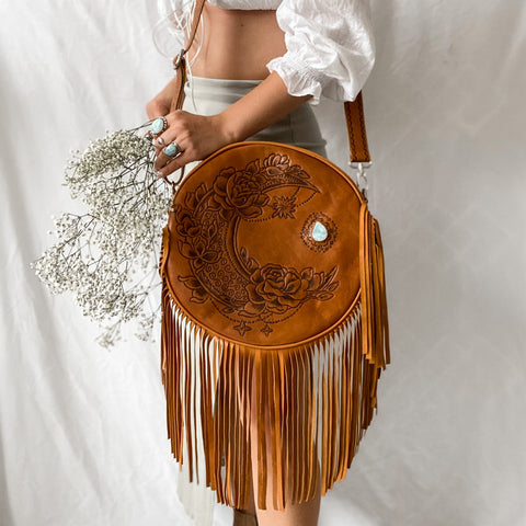 Gypsy Moon Bag in Tan
