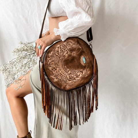Gypsy Moon Bag in Brown
