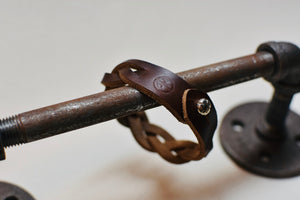 The Braided Horween Chromexcel Bracelet