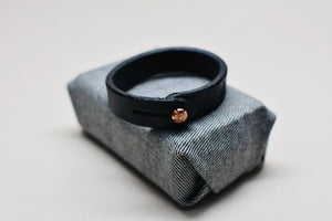 The Single Wrap Veg-Tan Bracelet
