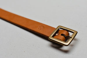 "The Square Buckle with 7/8"" Belt - 1 of 2"