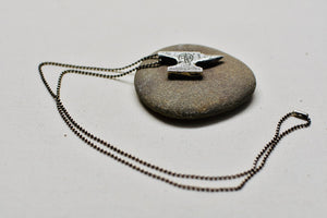 Anvil Pendant in Sterling Silver