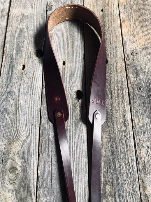 The Horween Chromexcel Camera Strap