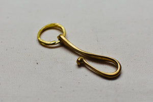 Brass Belt Loop Key Hook