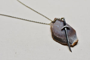 Sword Pendant in Sterling Silver