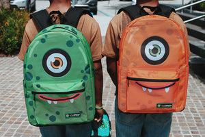 Cyclops Backpack (orange)