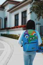 Load image into Gallery viewer, Monster Squad Backpack (blue)
