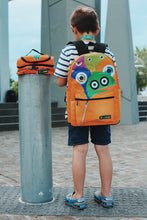 Load image into Gallery viewer, Monster Squad Backpack (orange)