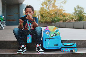 Monster Squad Backpack (blue)