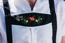 Load image into Gallery viewer, The Friedrich | Black lederhosen with white shirt