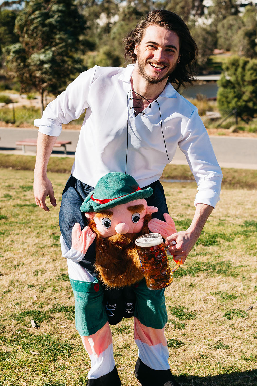 The Hans | Piggyback Lederhosen