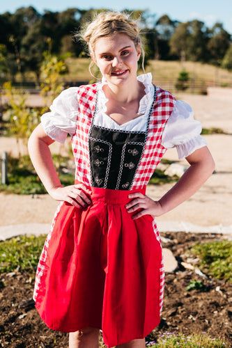 The Frieda | Classic Barmaid Dirndl