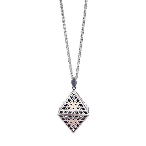 Amplify Octahedron Necklace