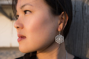 Anahata Hook Earrings