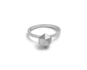 Icosahedron Ring