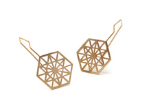 Load image into Gallery viewer, Anahata Hook Earrings